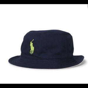 8a899ce0 Polo by Ralph Lauren Accessories - Polo Ralph Lauren reversible bucket hat  U.S. Open